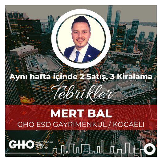 Tebrikler Mert Bal...